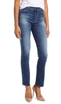 AG Jeans Mari High Waist Ankle Slim Straight Leg Jeans