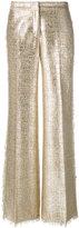 Gianluca Capannolo wide leg trousers - women - Cotton/Acrylic/Nylon/Polyester - 42