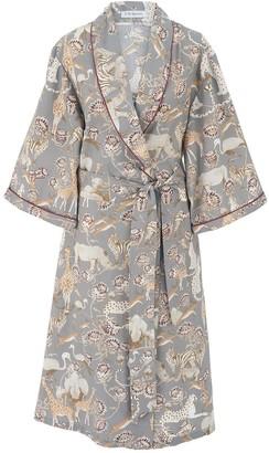 C. St. Quinton Safari Robe in Rhino Grey