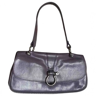 Burberry Purple Lizard Handbags