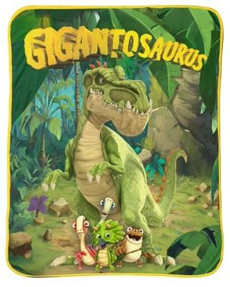 """Disney Gigantosaurus 40"""" x 50"""" Silk Touch Throw"""