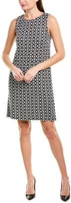 St. John Wool-Blend Shift Dress