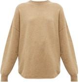 Extreme Cashmere - No. 53 Crew Hop Stretch-cashmere Sweater - Womens - Camel