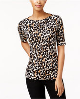 Charter Club Elbow-Sleeve Top, Only at Macy's
