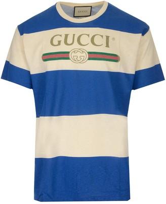 Gucci Logo Stripe T-Shirt