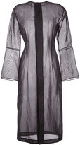 TOMORROWLAND sheer tunic dress