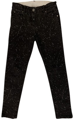 Stella McCartney Black Cotton Trousers