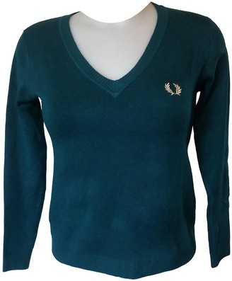 Fred Perry Green Cashmere Knitwear for Women