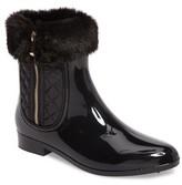 dav Women's Glasgow Faux Fur Cuff Boot