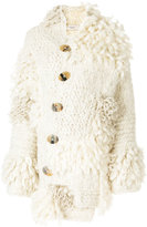 Pringle hand-knitted oversized cardigan