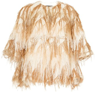 Muller of Yoshio Kubo Flow fringe jacket