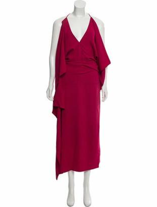 Roland Mouret 2019 Vincent Maxi Dress w/ Tags