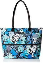 Vera Bradley Lighten Up Expandable Travel Tote Weekender Bag, Camo Floral, One Size