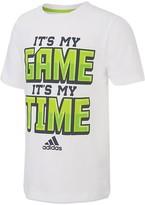 adidas Boys' Game Time Tee - Sizes 4-7