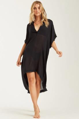 Billabong Found Love Cover Up Dress Black S