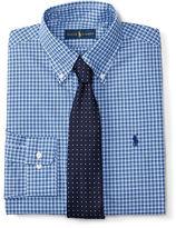 Polo Ralph Lauren Checked Poplin Dress Shirt