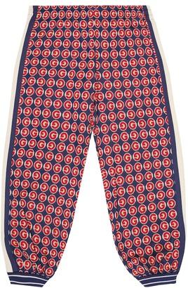 Gucci Kids Logo cotton trackpants