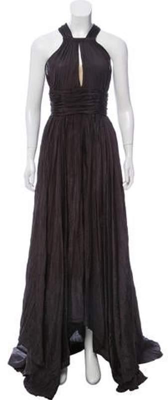 Oscar de la Renta Ruched Cocktail Dress Ruched Cocktail Dress