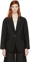 MM6 MAISON MARGIELA Black Single Button Jacket