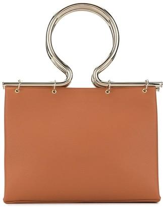 Cult Gaia Rose briefcase
