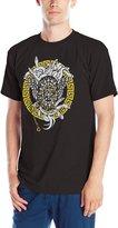 Crooks & Castles Crooks and Castles Men's Knit Crew Maisonic SS T Shirt Black 2XL