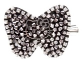 Hello Kitty - Hello Kitty Hematite Beaded Bow Hair Clip