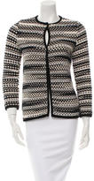 Missoni Patterned Crew Neck Jacket