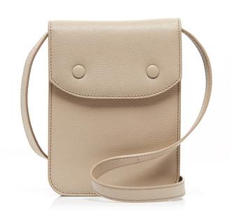 Maison Margiela Pebbled-Leather Shoulder Bag