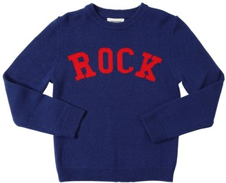 Zadig & Voltaire Rock Intarsia Wool Blend Knit Sweater