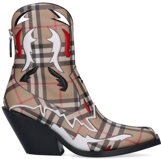 Burberry Vintage Check Boots