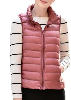 Belloo Womens Winter Ultra Light Down Gilet Vest