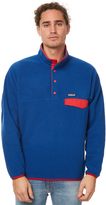 Patagonia Synchilla Snap T Mens Pullover Blue