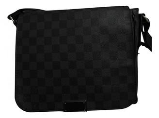 Louis Vuitton District Black Cloth Bags