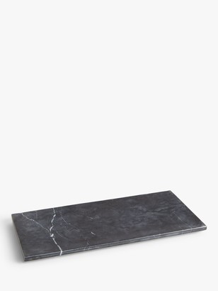 John Lewis & Partners Black Marble Accessory Tray
