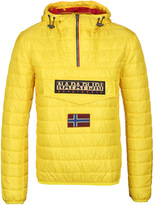 Napapijri Rainbow Bright Yellow Padded Jacket