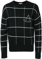 McQ by Alexander McQueen checked jumper - men - Cashmere/Wool - S