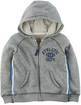 "Carter's Boys 4-8 Athletic Dept."" Marled Zip Hoodie"
