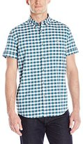 Kenneth Cole Reaction Men's Ss Bdc Lrg Gingham