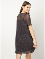 George Polka-Dot Mesh 2-in-1 Dress
