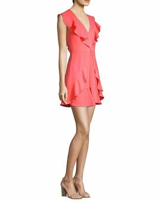 BCBGMAXAZRIA Azria Women's Eleeza Ruffle Dress
