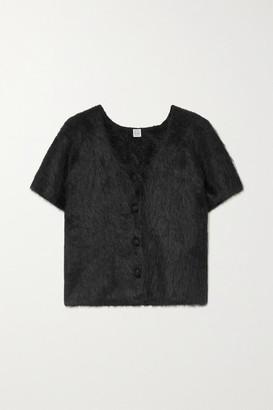 Totême Alpaca-blend Cardigan - Black