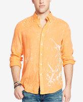 Polo Ralph Lauren Men's Long-Sleeve Ombré Linen Sport Shirt