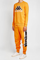 Kappa Kontroll Cropped Track Pants with Zipped Ankles