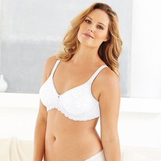Maidenform Beautiful Support Lace Minimiser Bra