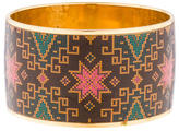 Matthew Williamson Wide Printed Bangle