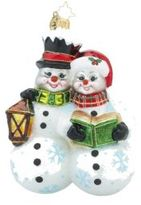 Christopher Radko Silent Night Sweethearts Ornament