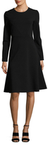 Jil Sander Jersey Flared Dress