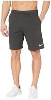 Nike Dri-FIT Training Shorts (Black Heather/White) Men's Shorts