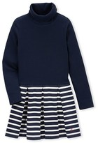 Petit Bateau Girls roll-neck dress