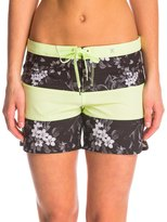 "Hurley Women's Phantom Printed Floral 5"" Beachrider Boardshort 8142636"